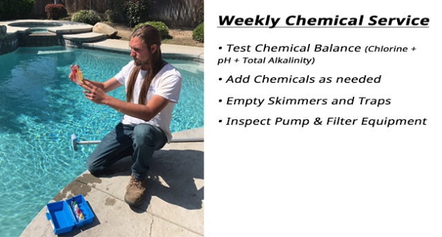weekly chemical service